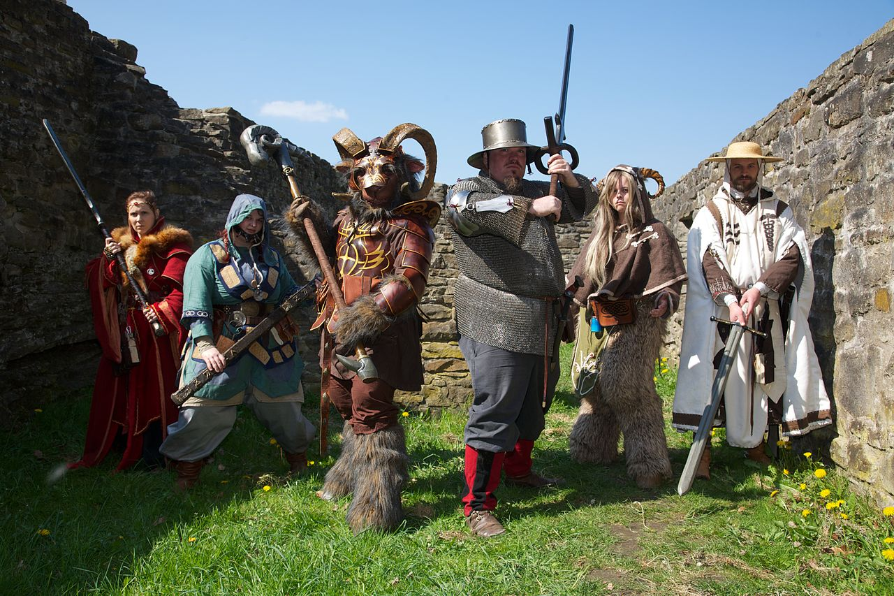 how to create a larp character